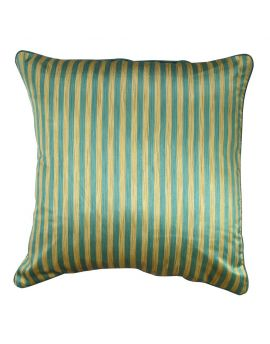 """20"""" x 20"""" Geometry Bohemian Style Stripe Poly Filled Decorative Accent Throw Pillow  Turquoise"""