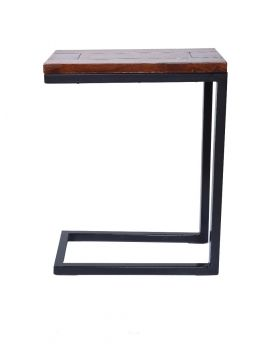 Solid mango Wood C Side Table