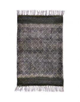 Plain Cotton Dhurrie Rug