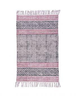 Cotton Dhurrie Rug Y-RU-10015