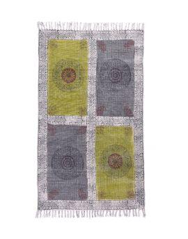 Cotton Dhurrie Rug Y-RU-10037